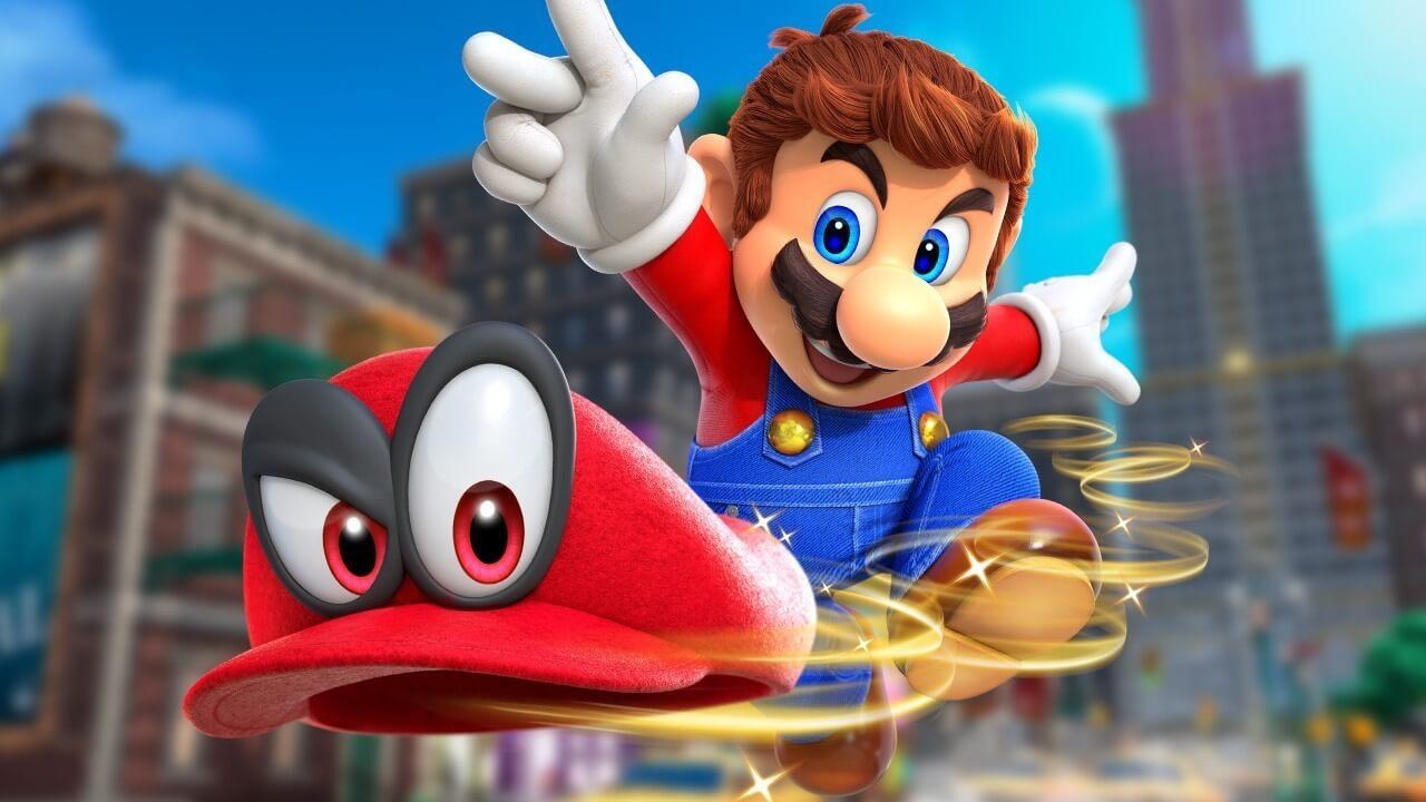 Super Mario Odyssey levels in allerlei werelden