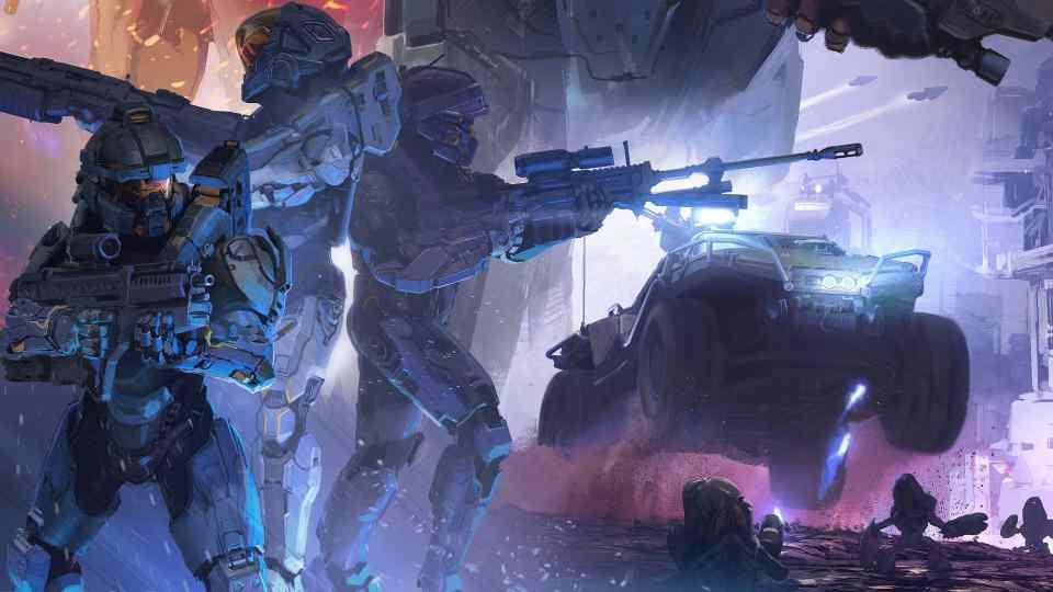 Halo 5, het spel dat nooit uit raakt